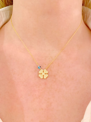 Full Clover Necklace