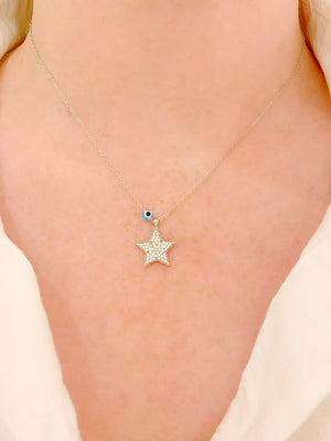 Funky Star Necklace