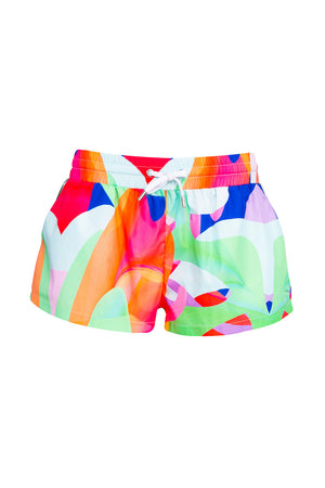 Mia Graphic Mini Shorts (Bonny Print)