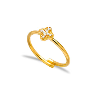 Mini Clover Ring
