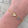 Mini Full Heart Bracelet
