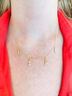 L-I-V-E Necklace