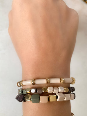 Earth Trio Bracelets