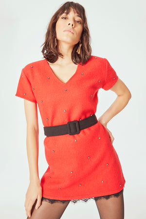 Red Mila Dress