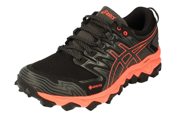 Asics Gel-Fujitrabuco 7 G-Tx Womens 1012A190  020 - Dark Grey Flash Coral 020 - Photo 0