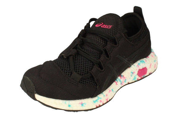 Asics Hypergel-Sai Womens 1022A013  001 - Black Pink Glo 001 - Photo 0