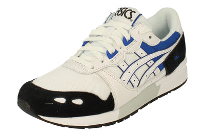 Asics Gel-Lyte Mens Trainers 1193A092  101 - White Asics Blue 101 - Photo 0