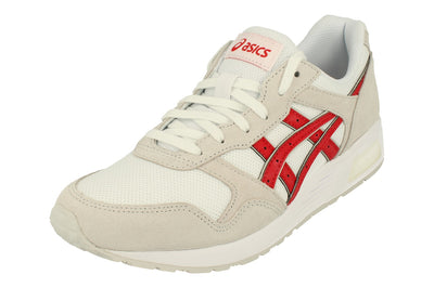 Asics Lyte-Trainer Mens 1201A006  101 - White Classic Red 101 - Photo 0