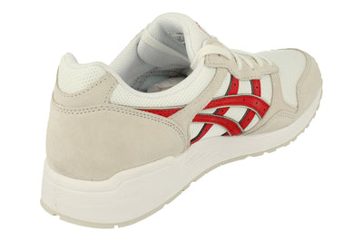 Asics Lyte-Trainer Mens 1201A006  101 - White Classic Red 101 - Photo 2