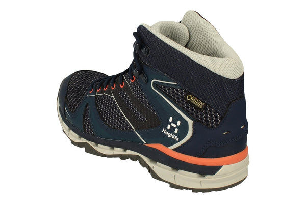 Haglofs Observe Mid Gt Surround Womens Walking Boots 497870  400 - Tarn Blue Blue Ink 400 - Photo 0