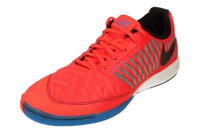 Nike Lunargato 2 Mens Football Boots 580456 Trainers Shoes  604 - Bright Crimson White Black 604 - Photo 0