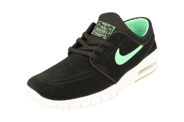 Nike Sb Stefan Janoski Max L Mens Trainers 685299  039 - Black Green Glow White 039 - Photo 0