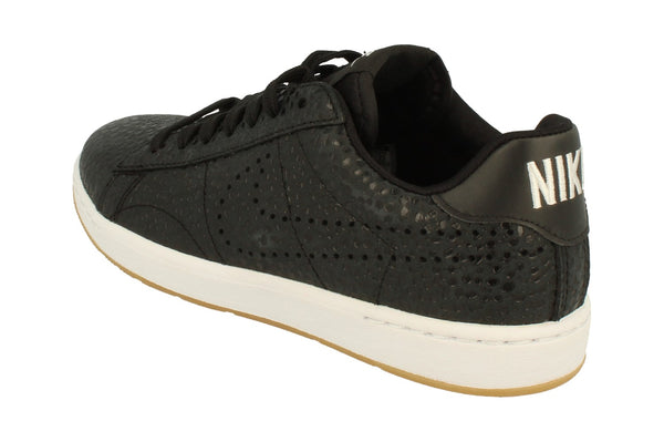 Nike Womens Tennis Classic Ultra PRM Trainers 749647  002 - Black White 002 - Photo 0
