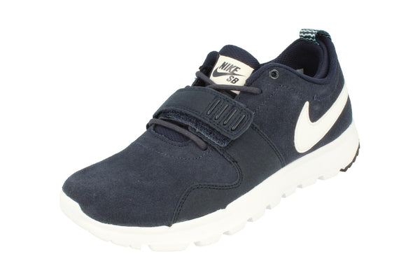 Nike Sb Trainerendor L Mens Trainers 806309  411 - Obsidian White 411 - Photo 0