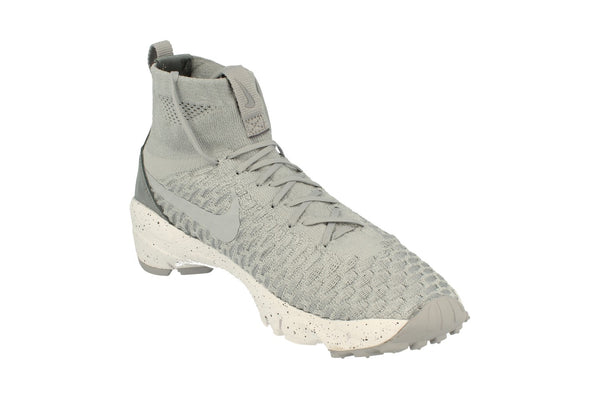 Nike Air Footscape Magista Flyknit Mens Trainers 816560  005 - Wolf Grey Hyper Orange 005 - Photo 0