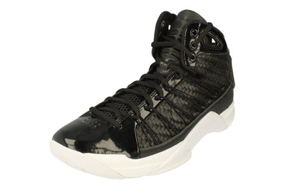 Nike Hyperdunk Lux Mens Hi Top Basketball Trainers 818137  001 - Black Metallic Gold 001 - Photo 0