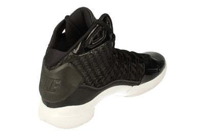 Nike Hyperdunk Lux Mens Hi Top Basketball Trainers 818137  001 - Black Metallic Gold 001 - Photo 2