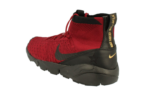 Nike Air Footscape Magista Fk Fc Mens Hi Top Trainers 830600  600 - Team Red Black 600 - Photo 0