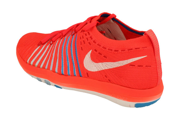 Nike Free Transform Flyknit Womens 833410  601 - Bright Crimson White 601 - Photo 0