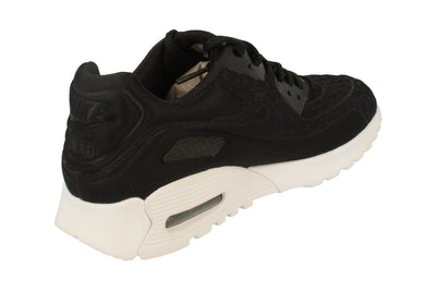 Nike Womens Air Max 90 Ultra Plush 844886  001 - Black White 001 - Photo 2