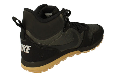 Nike Womens Md Runner 2 Mid Prem Hi Top Trainers 845059 004 - Black Gum Light Brown 004 - Photo 2