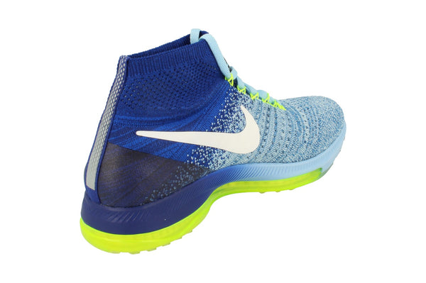 Nike Womens Zoom All Out Flyknit 845361  400 - Bluecap White 400 - Photo 0