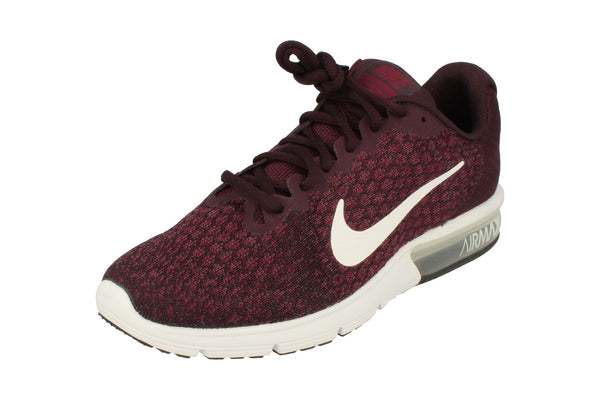 Nike Air Max Sequent 2 Mens 852461  601 - Port White Bordeaux White 601 - Photo 0