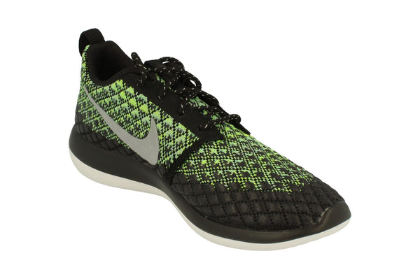 Nike Roshe Two Flyknit 365 Mens 859535  700 - Wolf Grey Green Glow 700 - Photo 0
