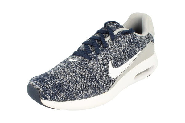 Nike Air Max Modern Flyknit Mens 876066  400 - College Navy White Grey 400 - Photo 0