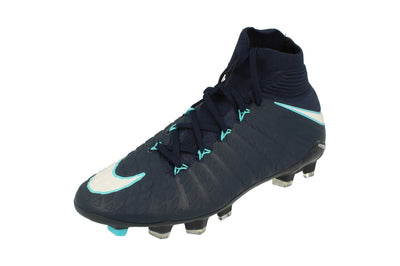 Nike Junior Hypervenom Phantom 3 Df FG Football Boots 882087  414 - Obsidian White Gamma Blue 414 - Photo 0