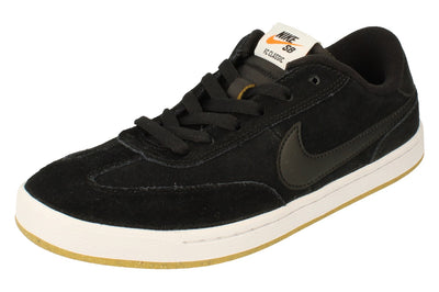 Nike Sb Fc Classic Mens Trainers 909096  001 - Black White Vivid Orange 001 - Photo 0