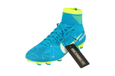 Nike Junior Mercurial Superfly V Df Njr FG Football Boots 921483  400 - Blue Orbit White 400 - Photo 0