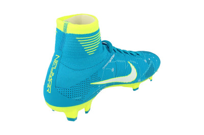 Nike Junior Mercurial Superfly V Df Njr FG Football Boots 921483  400 - Blue Orbit White 400 - Photo 2