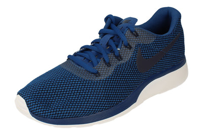 Nike Tanjun Racer Mens 921669 404 - Gym Blue White 404 - Photo 0