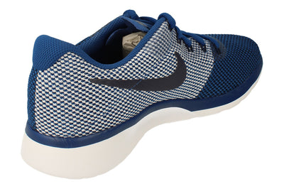 Nike Tanjun Racer Mens 921669 404 - Gym Blue White 404 - Photo 2