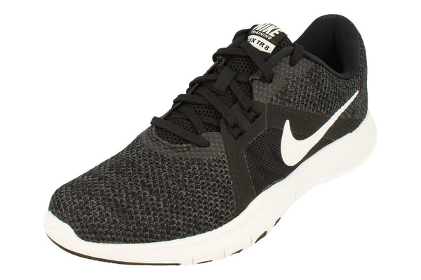 Nike Flex Trainer 8 Womens 924339  001 - Black White Anthracite 001 - Photo 0