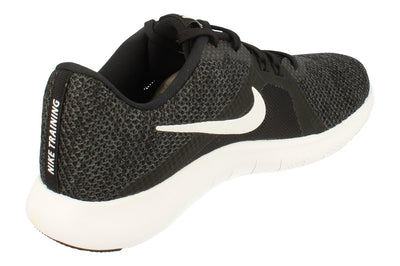 Nike Flex Trainer 8 Womens 924339  001 - Black White Anthracite 001 - Photo 2