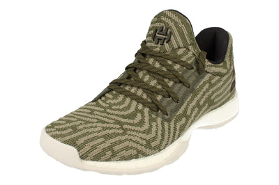 Adidas Harden Vol.1 Mens Basketball Trainers Sneakers AH2113 AH2113 - White Black Green Ah2113 - Photo 0