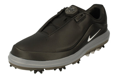 Nike Air Zoom Precision Boa Mens Golf Shoes Ah7101 Trainers  002 - Black Metallic Silver 002 - Photo 0