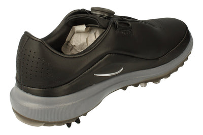 Nike Air Zoom Precision Boa Mens Golf Shoes Ah7101 Trainers  002 - Black Metallic Silver 002 - Photo 2