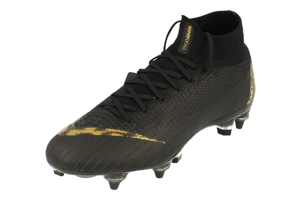Nike Superfly 6 Elite Sg-Pro Ac Mens Football Boots Ah7366  077 - Black Metallic Vivid Gold 077 - Photo 0