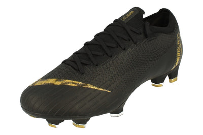 Nike Vapor 12 Elite FG Mens Football Boots Ah7380  077 - Black Vivid Gold 077 - Photo 0