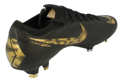 Nike Vapor 12 Elite FG Mens Football Boots Ah7380  077 - Black Vivid Gold 077 - Photo 2
