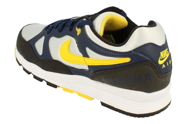 Nike Air Span II Mens Ah8047  401 - Midnight Navy Tour Yellow 401 - Photo 0