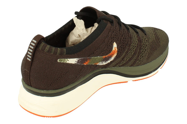 Nike Flyknit Trainers Mens Ah8396  202 - Velvet Brown Neutral Olive 202 - Photo 0