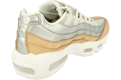 Nike Womens Air Max 95 Se PRM Ah8697  002 - Pure Platinum Metallic Silver 002 - Photo 2