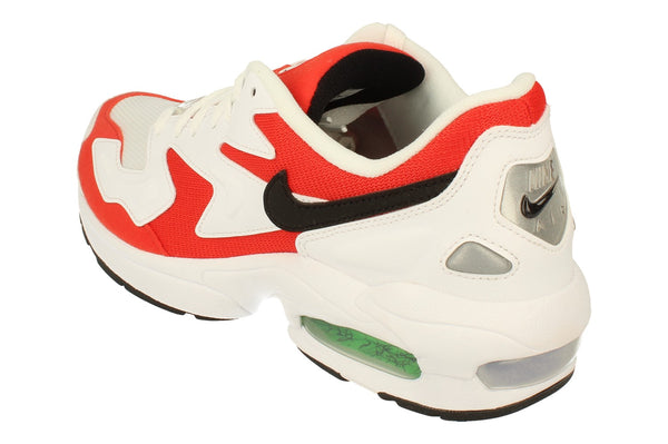 Nike Air Max2 Light Mens Ao1741  101 - White Black Habanero Red 101 - Photo 0