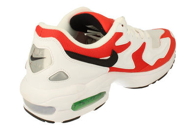 Nike Air Max2 Light Mens Ao1741  101 - White Black Habanero Red 101 - Photo 2