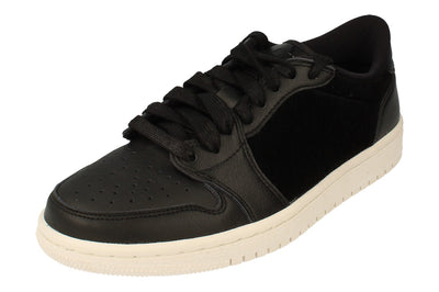 Nike Womens Air Jordan 1 Retro Low NS Trainers Ao1935  001 - Black Sail 001 - Photo 0
