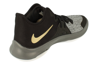 Nike Air Versitile II Mens Hi Top Basketball Trainers Ao4430  005 - Black Metallic Gold Dark Grey 005 - Photo 2